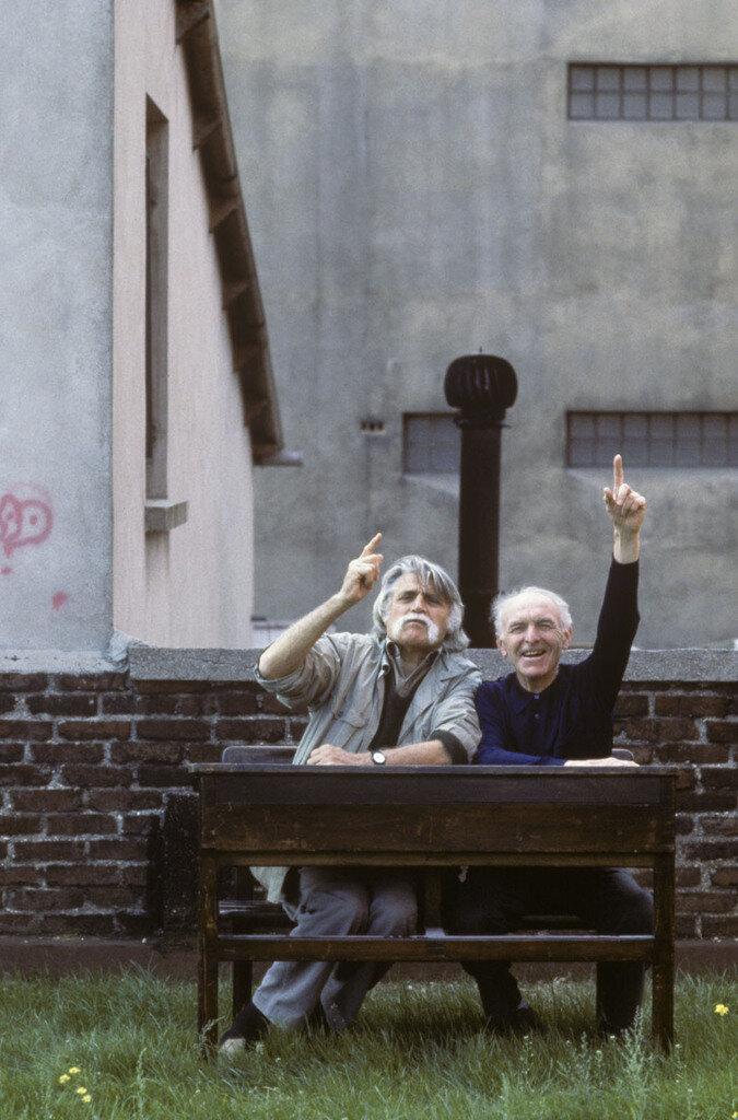 1989. Франсуа Каванна и Робер Дуано за школьной партой