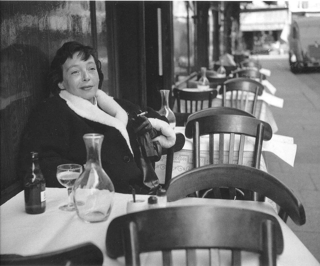 1952. Маргерит Дюрас в «Петит Сен-Бенуа»