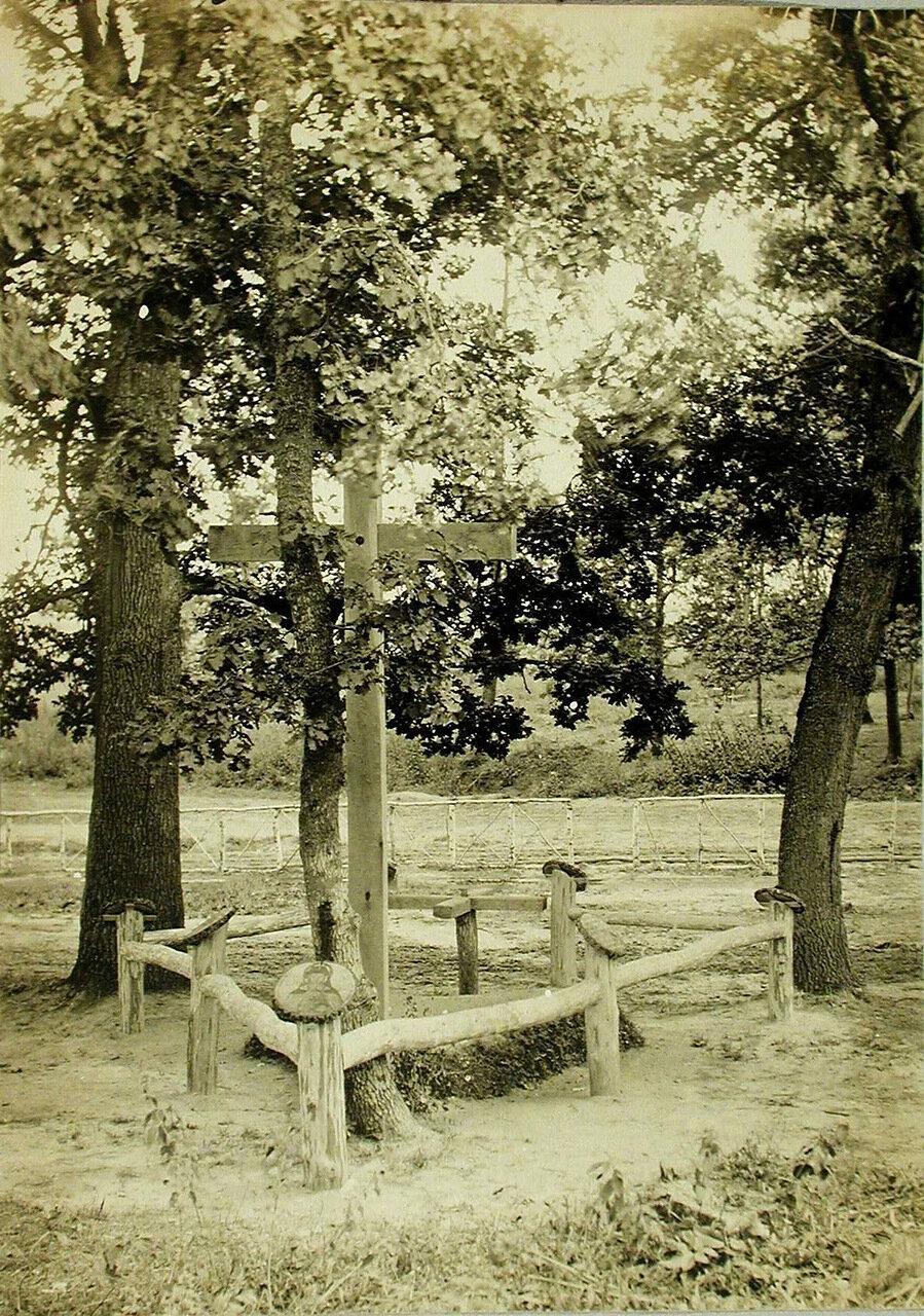 16. Общий вид братской могилы в Вертелецком лесу (у шоссе Тарнополь-Запозце)