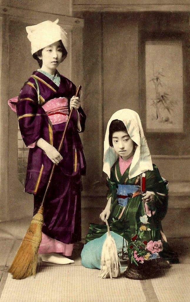 Гейша Теруха и ее подруга
