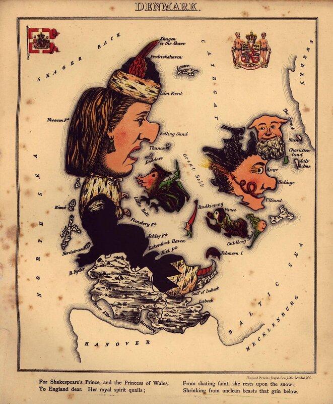 Карты. Старинные, странные, удивительные, карикатуристические
