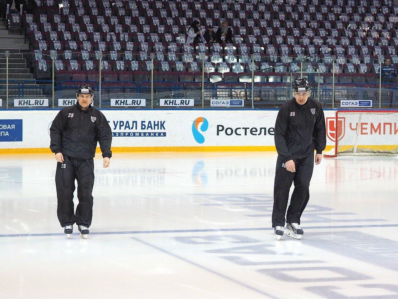 6 Первая игра финала плей-офф восточной конференции 2017 Металлург - АкБарс 24.03.2017