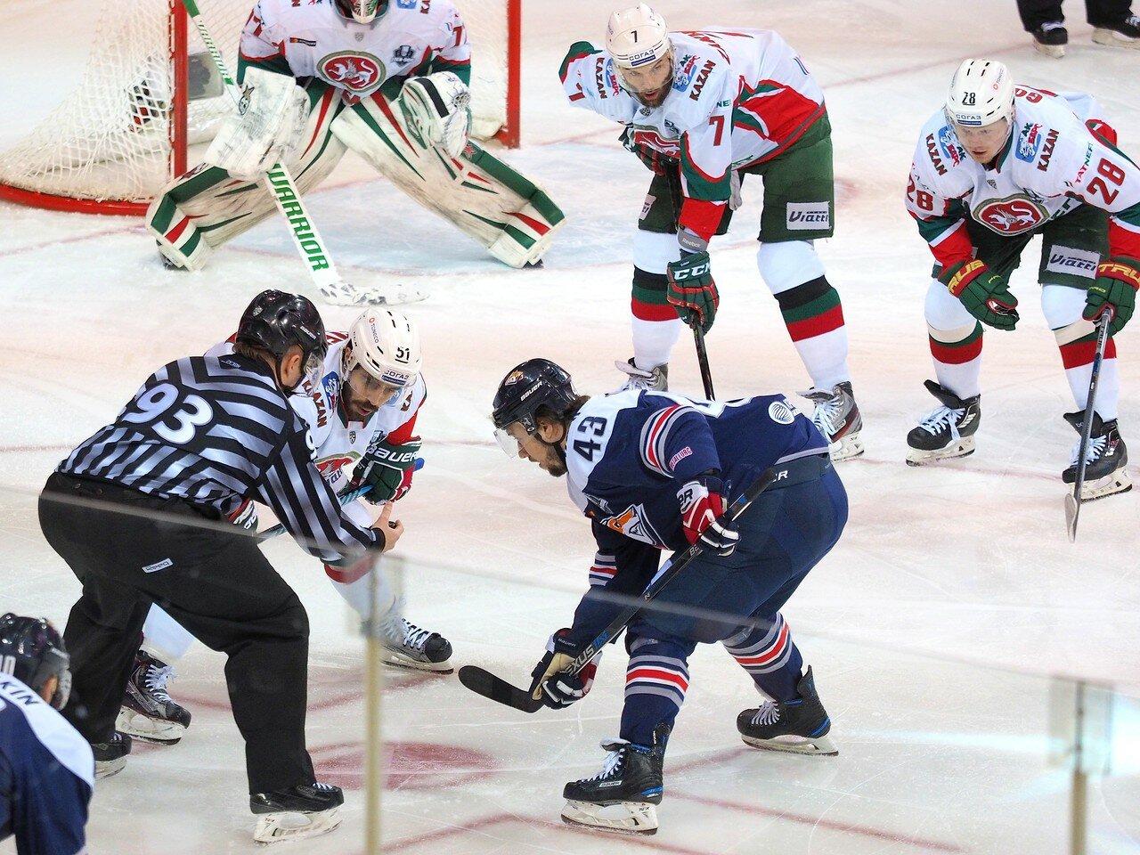 46 Первая игра финала плей-офф восточной конференции 2017 Металлург - АкБарс 24.03.2017