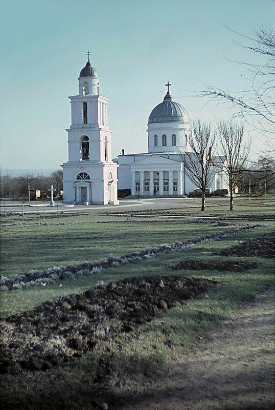 1943-44 Кишенев. Собор Рождества Христова. Franz Grasser2.jpg
