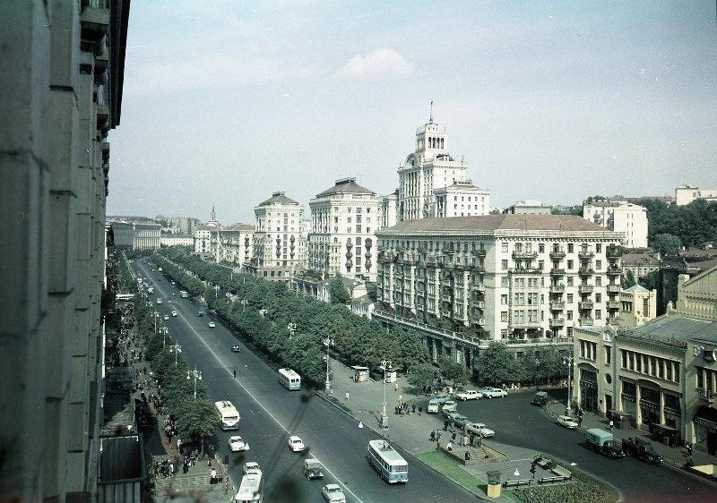 1960е Киев. Крещатик. Шагин.jpg