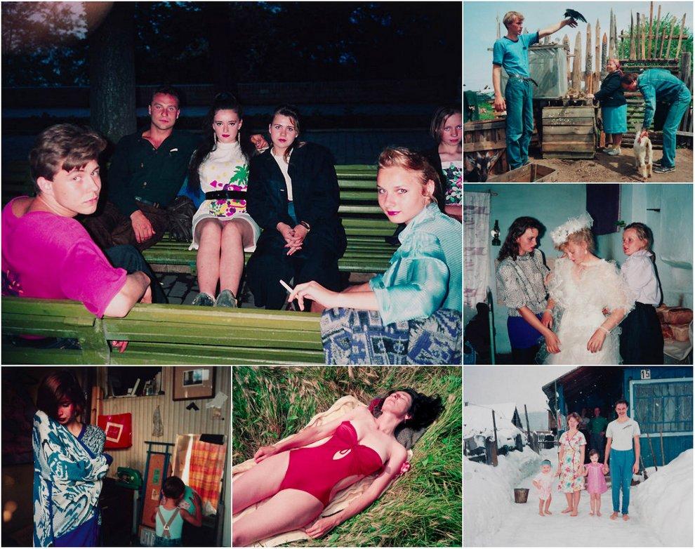 90-е на снимках Бертин Ван Манен