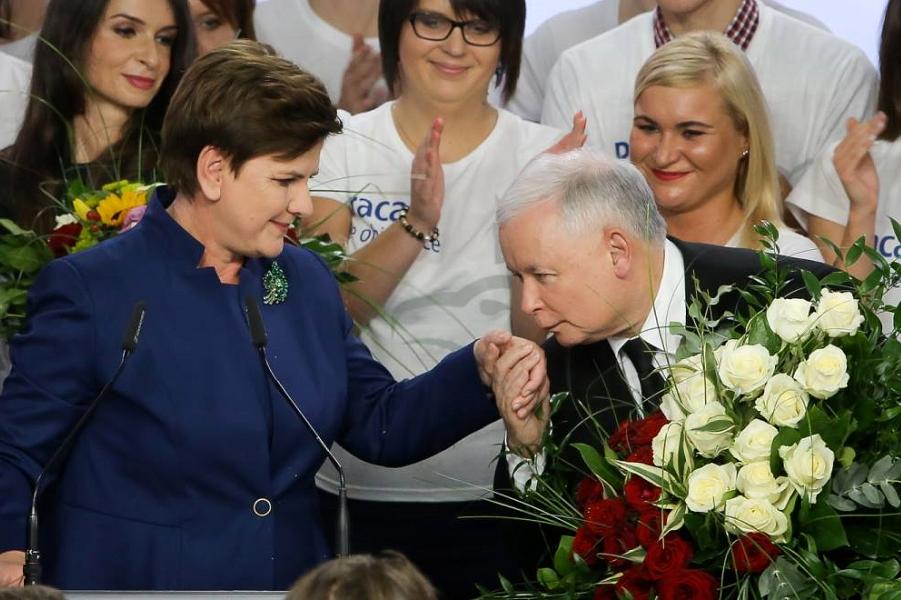 Ярослав Качиньский и Беата Шидло.png