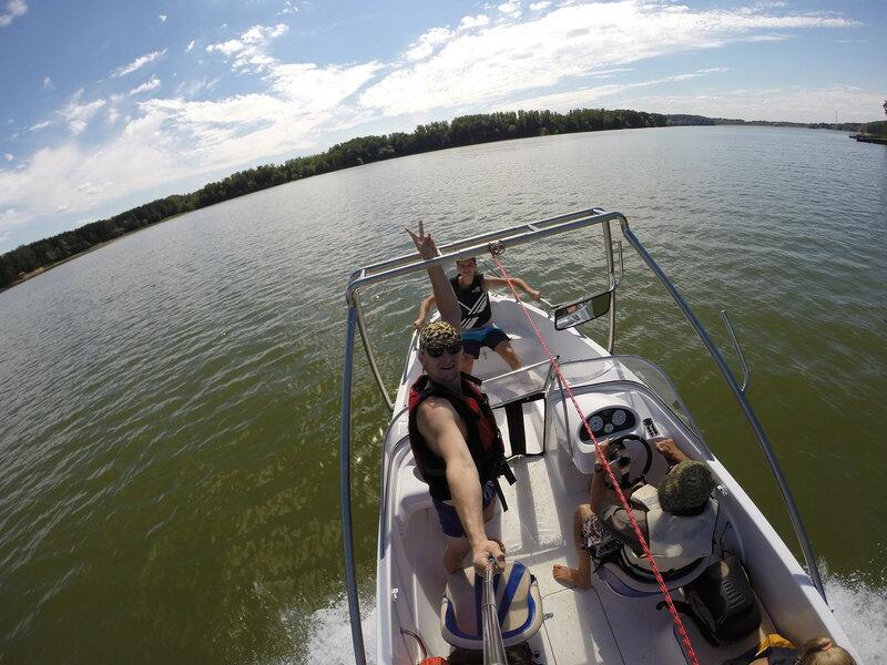 Спустить лодку истринское водохранилище