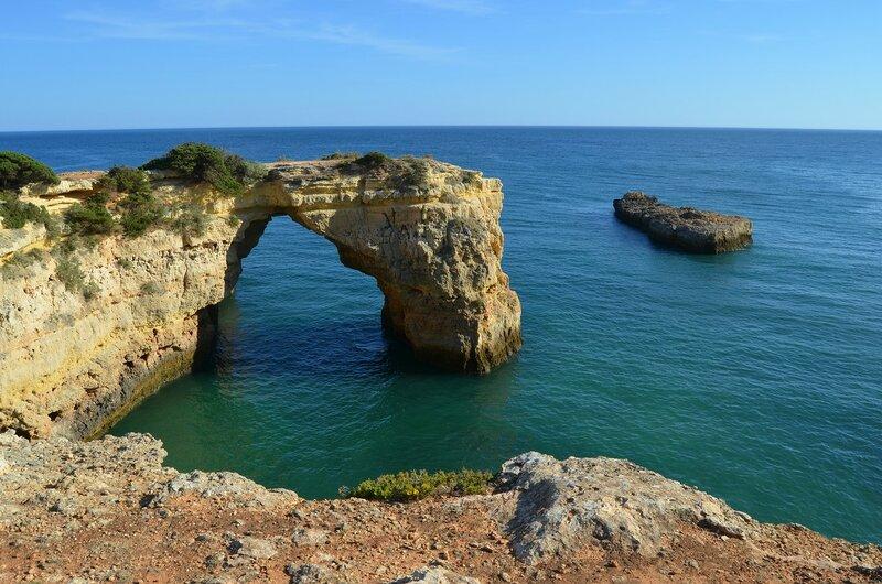 Красота португальских пляжей