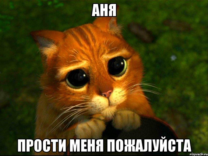 Аня, прости меня пожалуйста!
