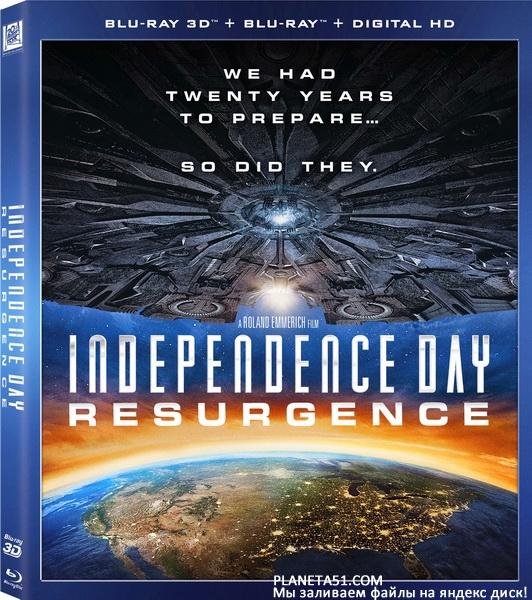 День независимости: Возрождение / Independence Day: Resurgence (2016/BDRip/HDRip) + 3D