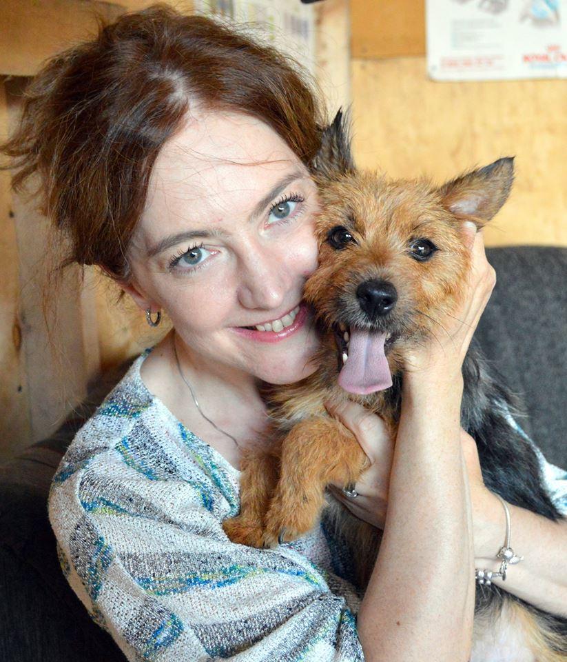 Марлена собака из приюта догпорт