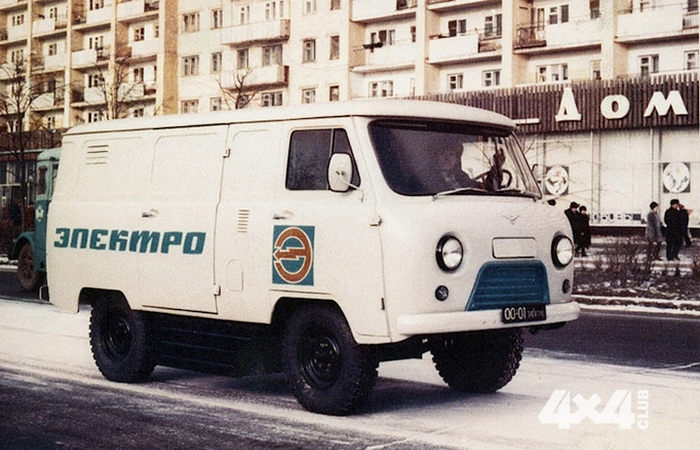 Электромобиль УАЗ-451. Опытный образец советского электромобиля на базе УАЗ-451, созданный в начале