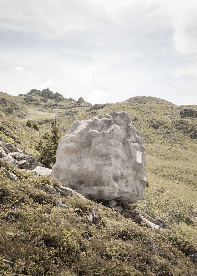 Трудно догадаться, что скрывается за этим камнем (7 фото)