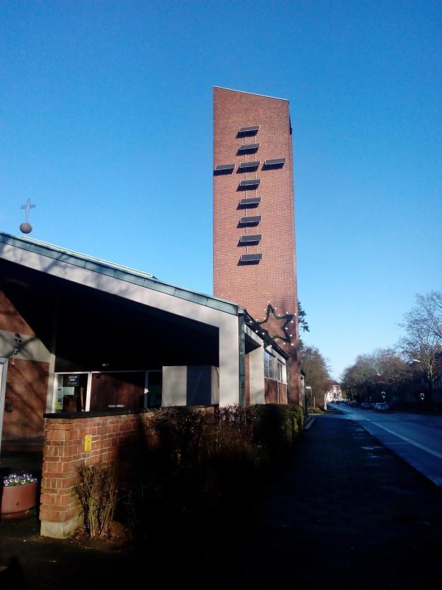 Церковь с солнечными батареями.