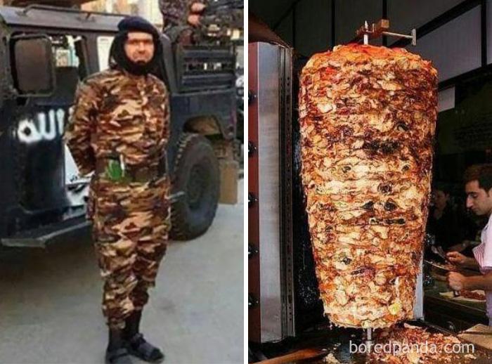 Боевик ИГИЛ (организация запрещена в России) или мясо для шаурмы?