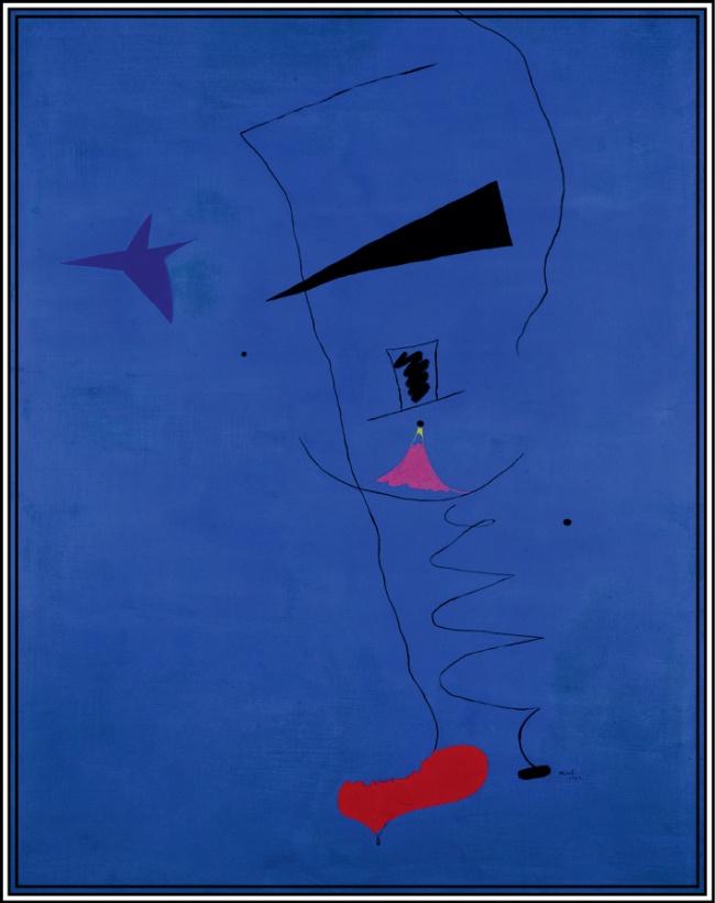 © svenska.yle.fi  Другое название картины— «Голубая звезда». Художник написал еевтомже год
