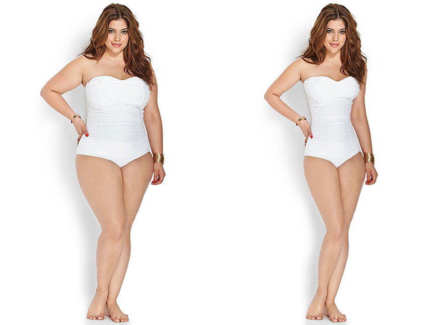 Создатель проекта Project Harpoon с помощью Photoshop заставил похудеть моделей plus size