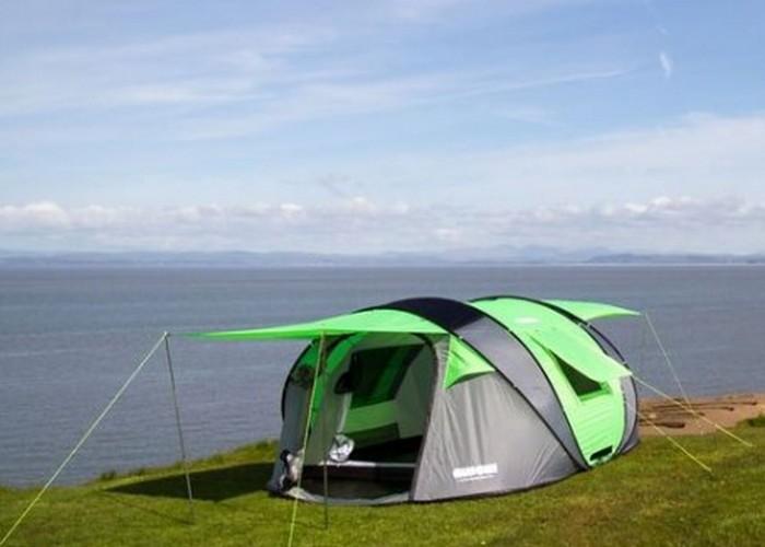 Палатка Cinch. Для любителей отдыха на природе не так давно была разработана самораскрывающаяся пала