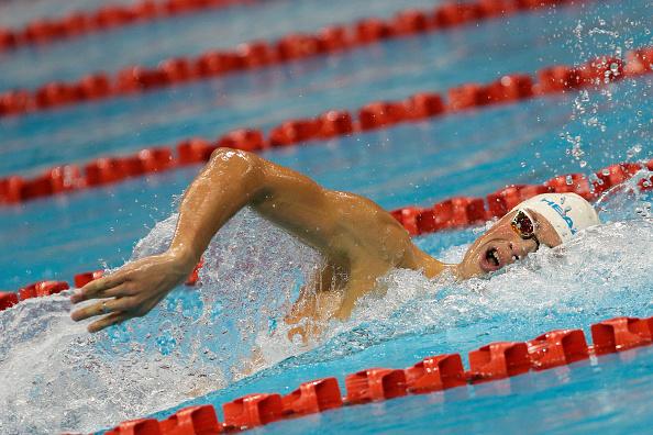 Романчук завоевал 3-е золото наэтапах Кубка мира поплаванию