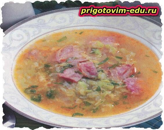 Густой португальский суп калду верде