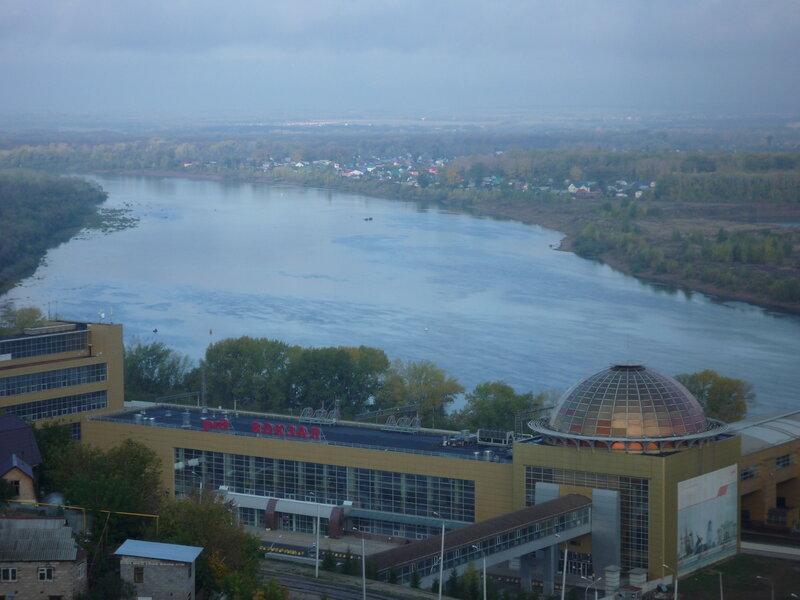 Уфа. Вид с балкона