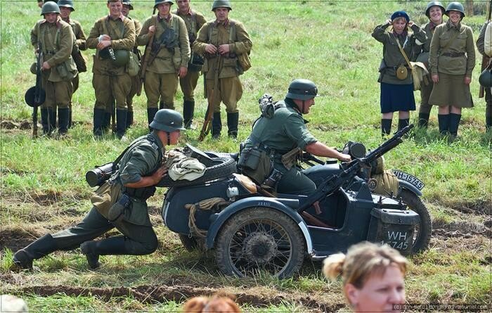 BMW R75, М1А и другие легендарные мотоциклы времен 2-й мировой войны