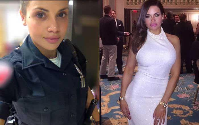 Служащая полиции Нью-Йорка
