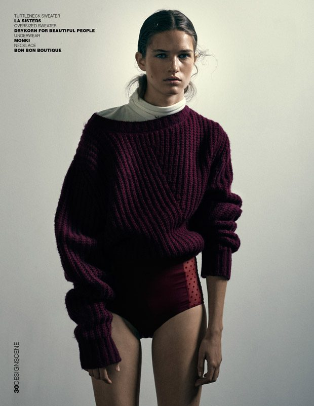 Wool Minimal vs Maximal with Femke Huijzer for Design SCENE Magazine