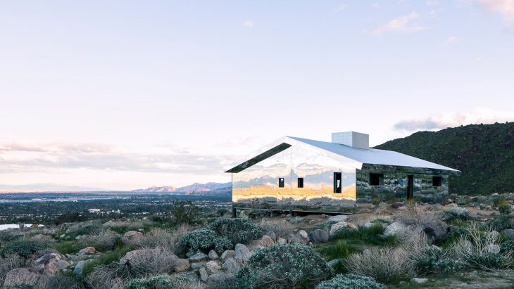 MIRAGE HOUSE BY DOUG AITKEN in Palm Springs (7 pics)