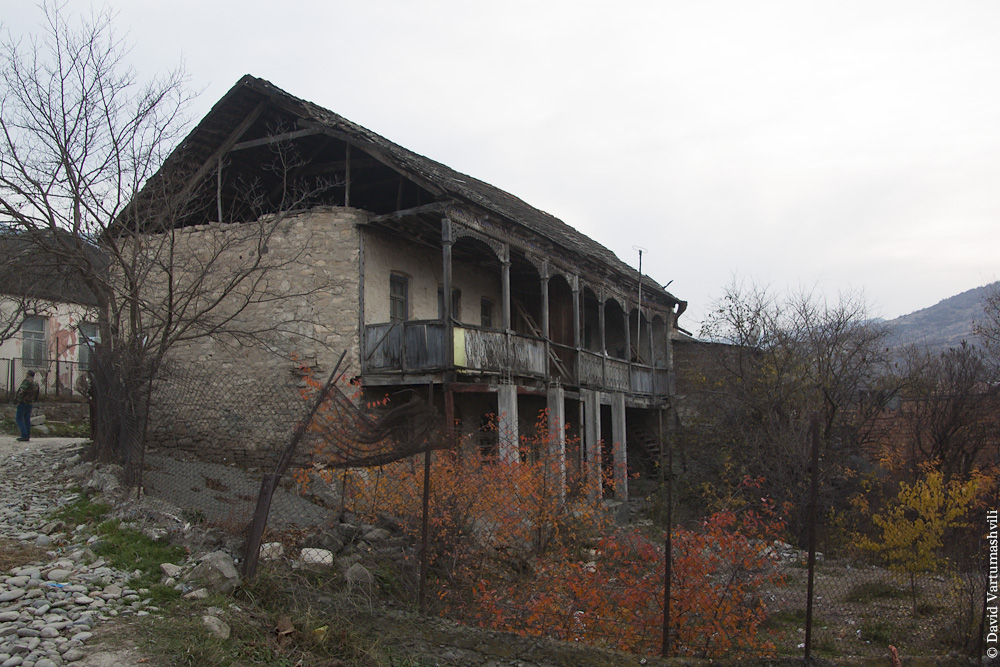 Грузия, Кавчурское ущелье