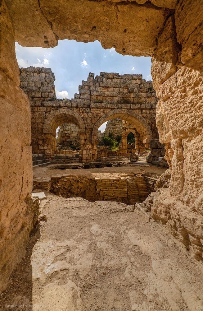 Фото 29. Вид на арку у Римских бань в Перге. Отчеты туристов об отдыхе в Анталии самостоятельно. HDR.