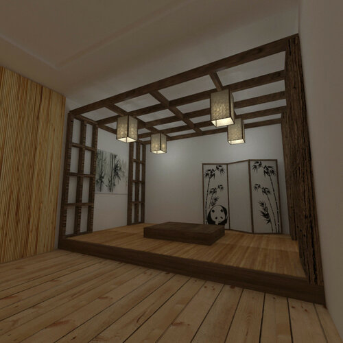 кубик японский стиль 03