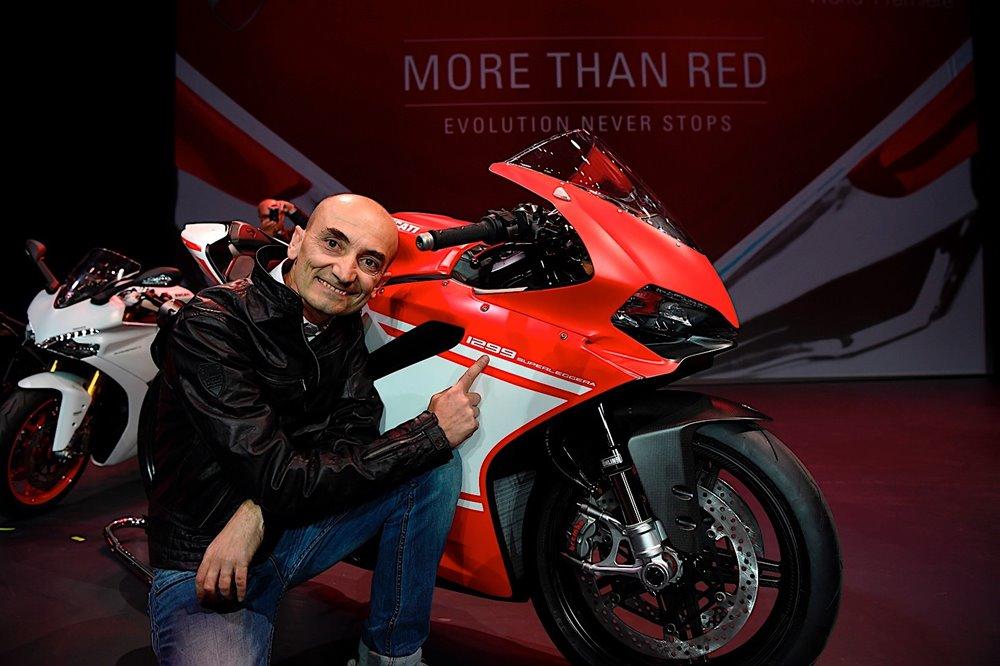 В 2016 году Ducati продали  55 451 мотоциклов