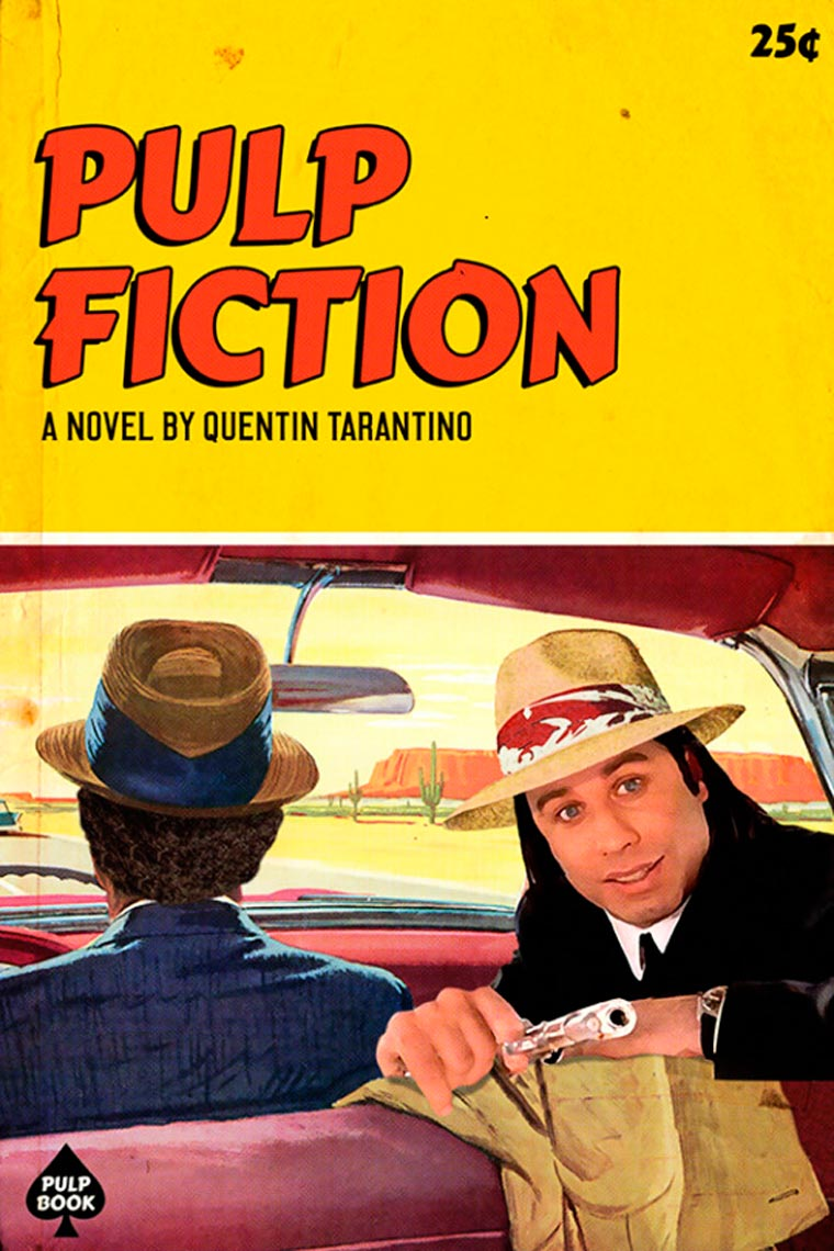 Pulp Books - When the movies of Tarantino become vintage books