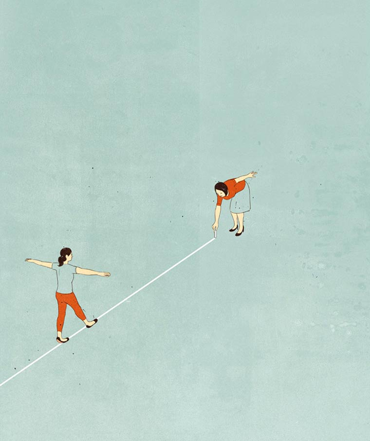 Clarity - Les illustrations minimalistes et surrealistes de SHOUT