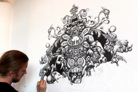 Amazing Illustrations by Joe Fenton