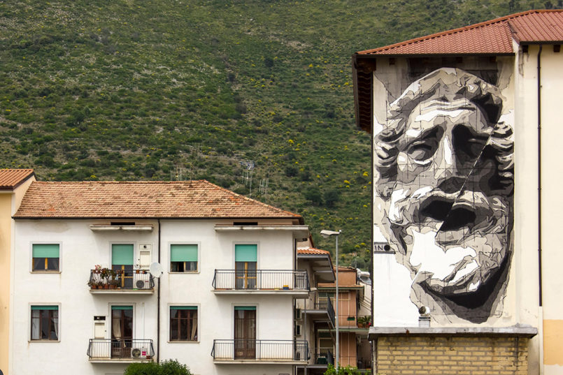 Large Scale Murals by Ino