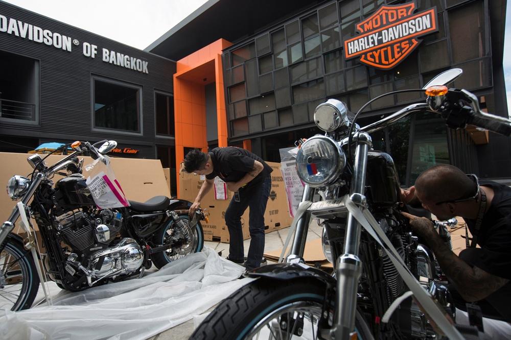 Компания Harley-Davidson открывает завод в Таиланде