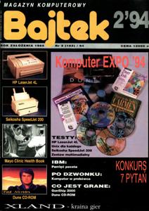 Журнал: Bajtek (на польском) - Страница 4 0_12c83e_5278af18_orig
