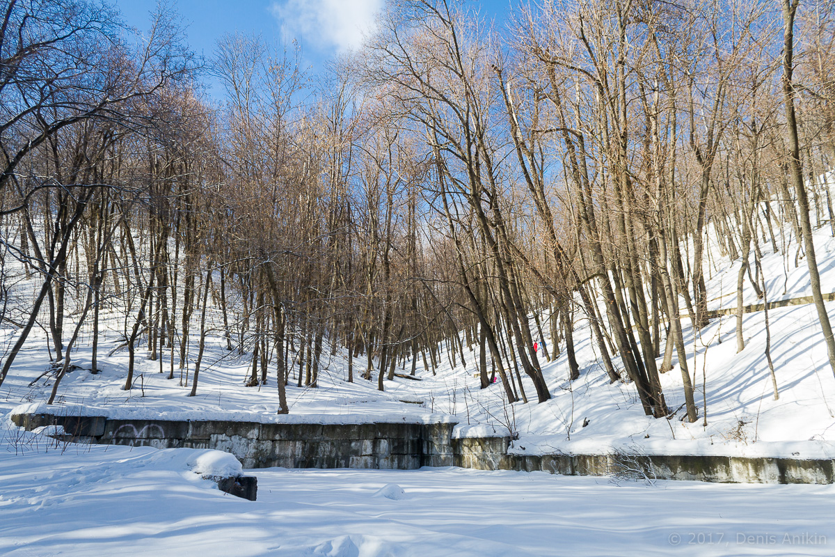 терренкур октябрьское ущелье зима Саратов фото 2
