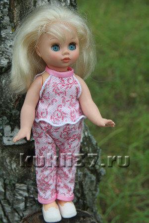 трикотажный топ для куклы