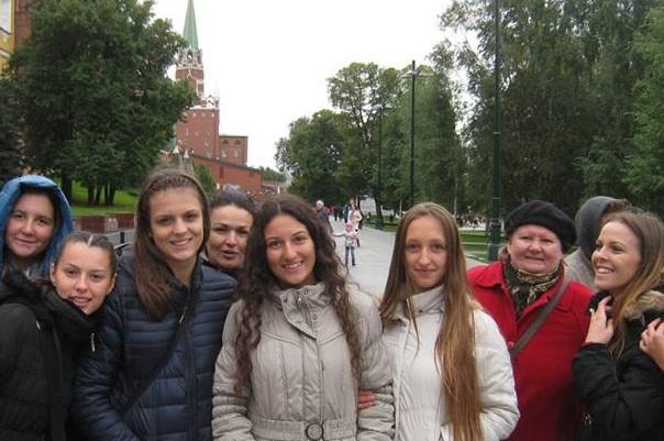 Приезд группы из Ораховца 2016