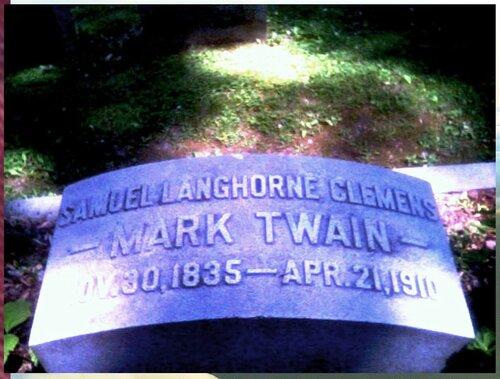 Марк Твен. SamuelC Grave.jpg