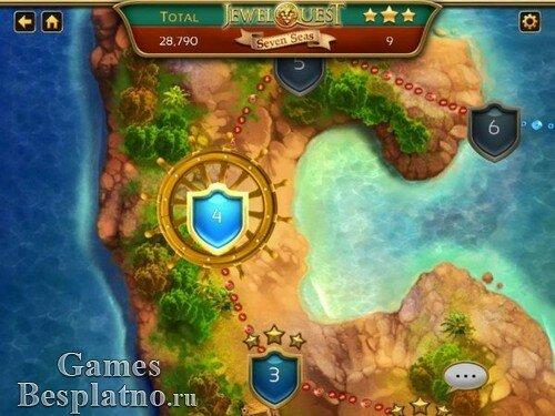 Jewel Quest 7: Seven Seas. Collectors Edition