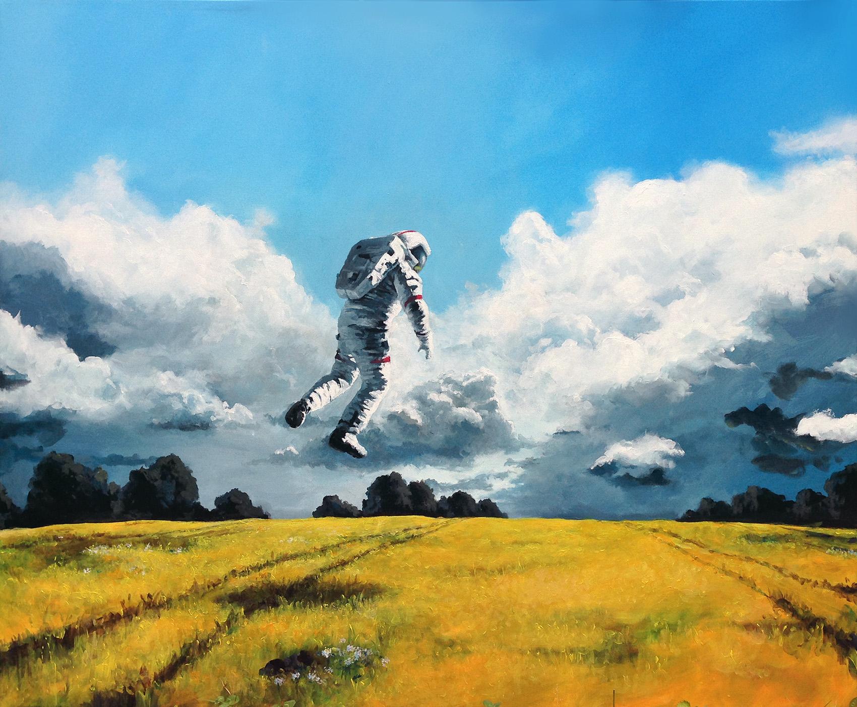 Астронавты на природе. Томас Юууль Кран.