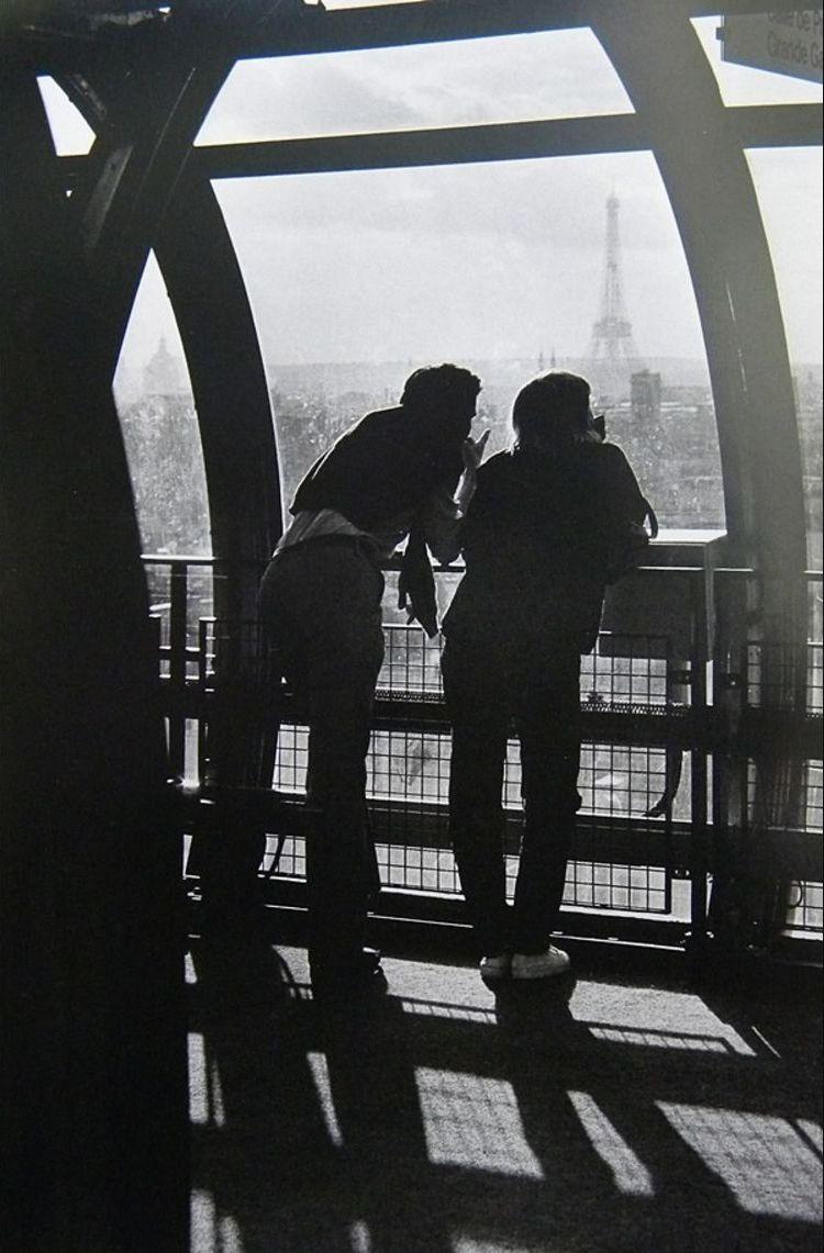 1982. Пара в Бобаре, Париж