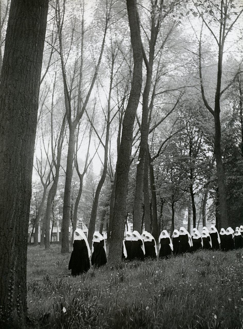 1951. Бегинаж в Брюгге