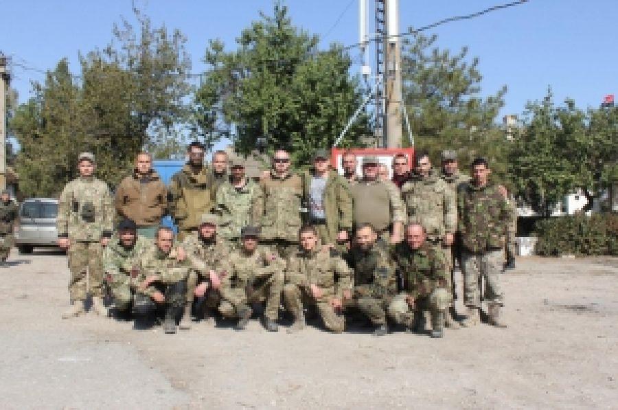 Ротация бойцов ДУК ПС, которые принимают участие в блокаде Крыма, проходит по плану