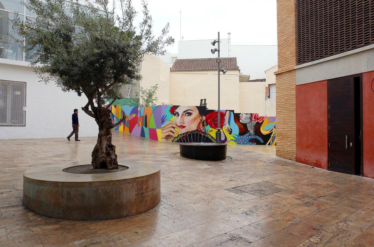 Малага. Площадь Худерия (Plaza de la Judería)